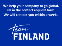 Team Finland frontpage