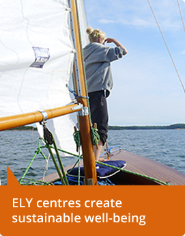 ELY centres create sustainable well-being.