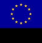 Euroopan unionin lippulogo, euroopan aluekehitysrahasto ja euroopan sosiaalirahasto.