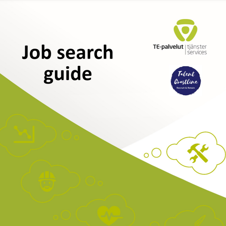 The cover of the job search guide